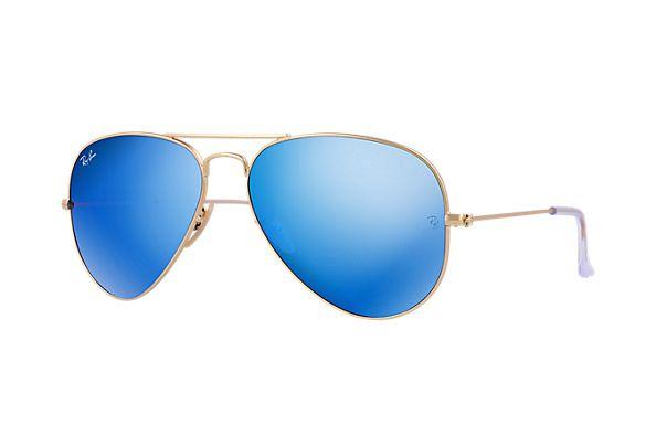 ray ban blau sonnenbrille
