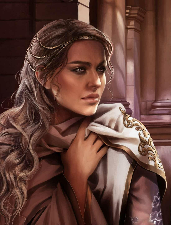 Fantasy Human Noblewoman Art Pinterest