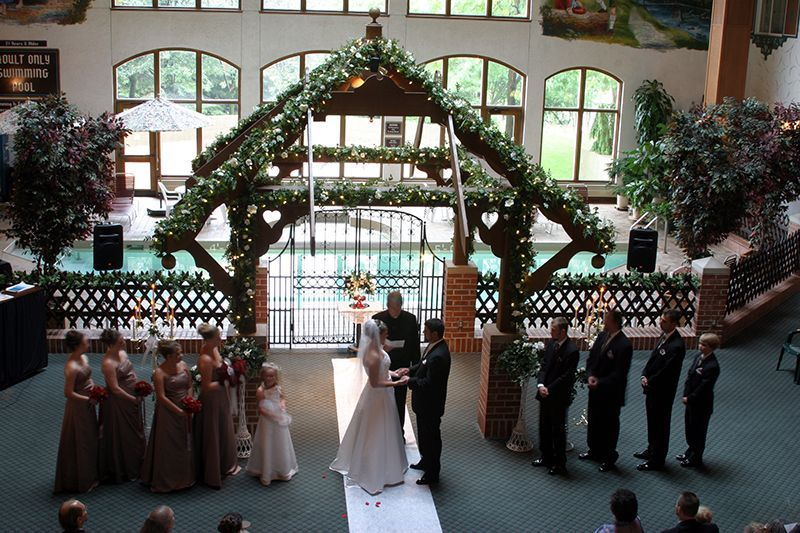Ceremonies At The Bavarian Lodge Frankenmuth MI