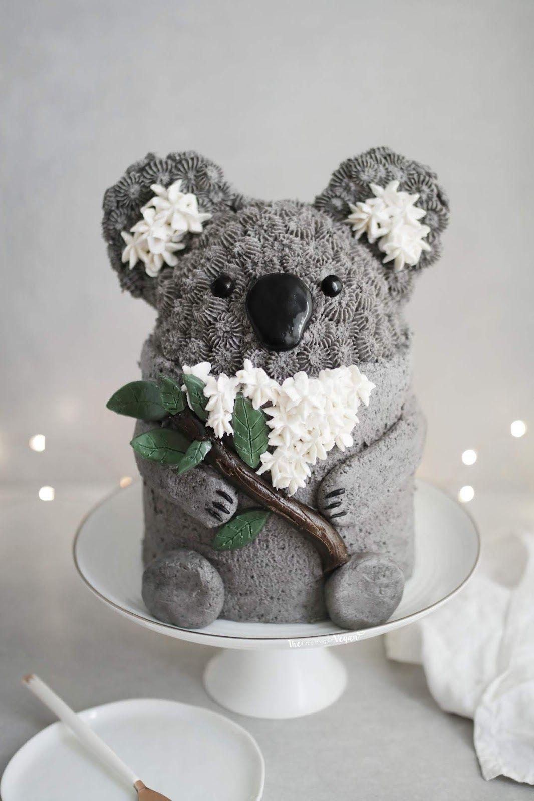 Cookies and Cream Koala cake recipe