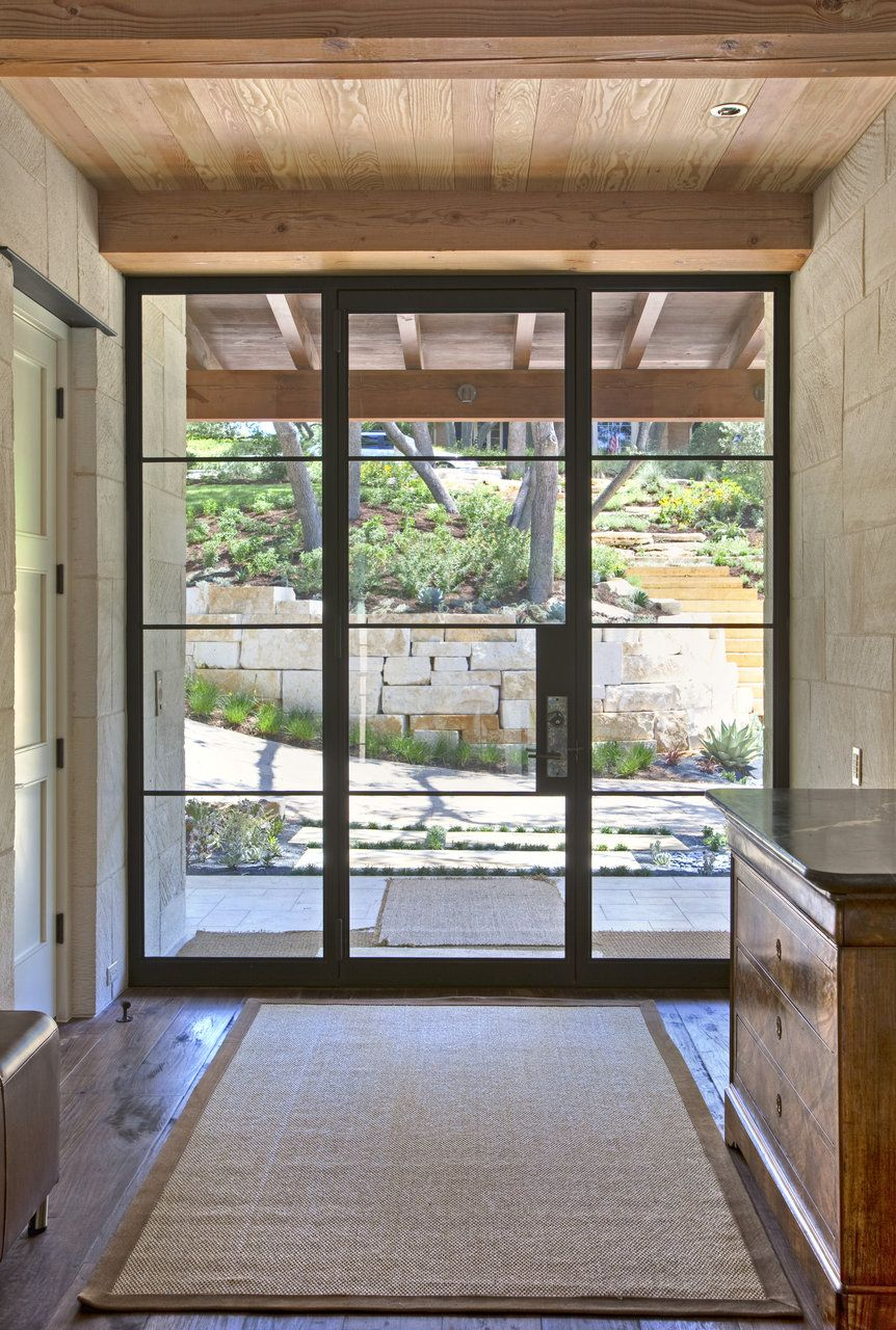 Modern glass front doors for homes - Find This Pin And More On Spaces Entry Mudrooms Glass Front Doors