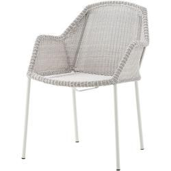 Photo of Stabelstol Breeze Cane-line grey, designer Christina Strand, Niels Hvass, 83x60x62 cm Cane-Line
