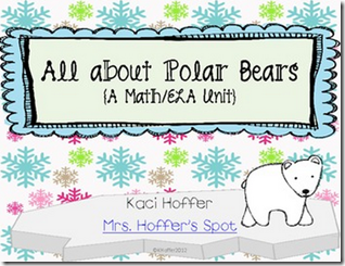 $This unit has 4 Centers, 3 games and 2 Anchor Chart activities.   Centers Chilly Sight Words Polar Bear Nonsense Icy Measurements Slippery Numbers  Games Find the Polar Bear Oops! I have, Who Has?  Anchor Chart Activities Venn Diagram Can Have Are Anchor Chart   There are two versions of these centers, an ink friendly version and a print and go version.