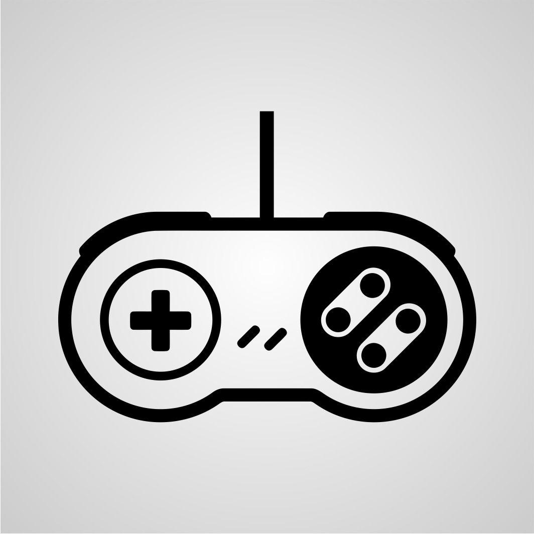 Snes Control Pad Stencil Art Video Game Companies Stencil Art Rainy Day