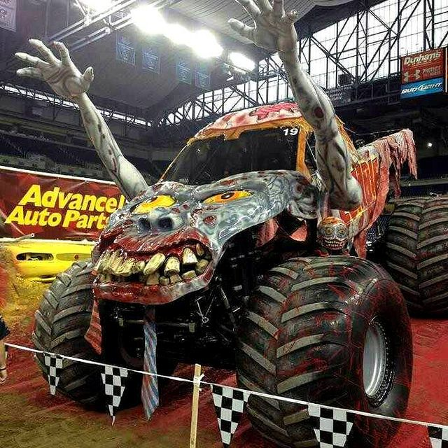 Zombie Monster Truck Monster Trucks Zombie Vehicle Zombie Monster