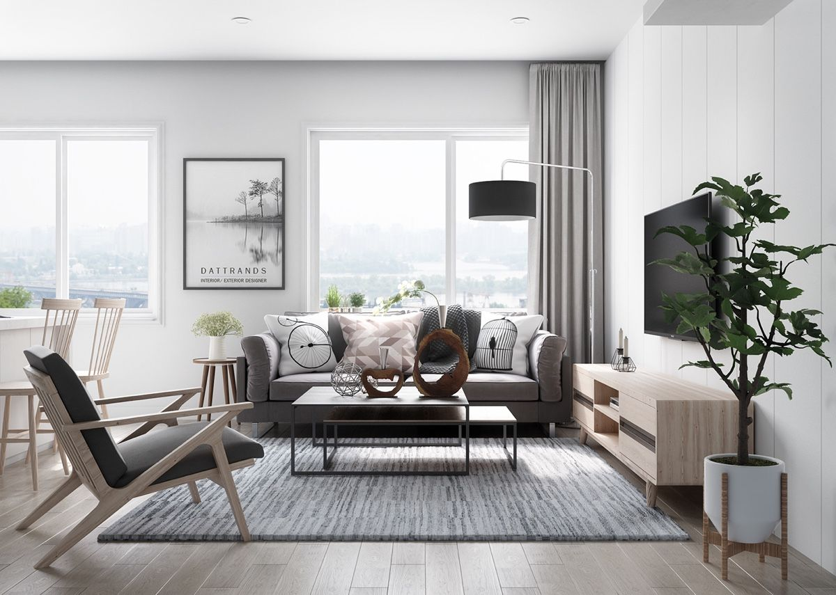 Six Scandinavian Interiors That Make The Lived In Look Inspirational Stili Dlya Gostinyh Komnat Skandinavskij Dizajn Interera Ukrasheniya Dlya Gostinoj
