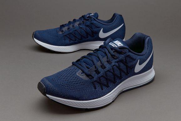 Nike Air Zoom Pegasus 32 - Mens Shoes - Midnight Navy/White-Midnight Navy