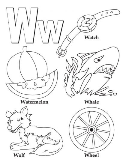 Alphabet Coloring Pages Alphabet Coloring Pages Alphabet