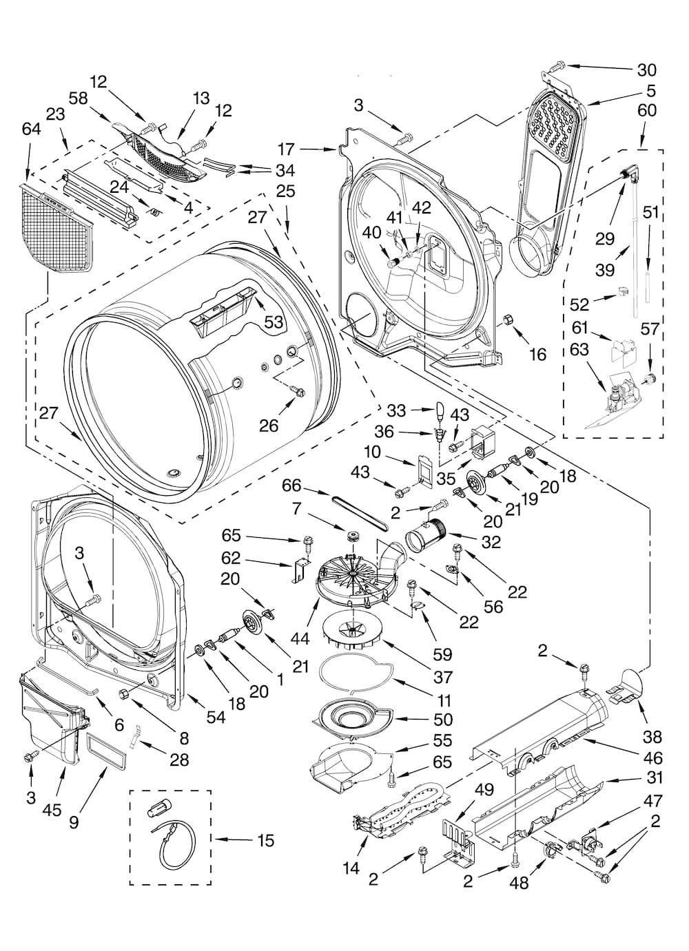 Kenmore Elite Residential Dryer Parts Model 11068062801 Sears Partsdirect Screen Door Kenmore Kenmore Elite
