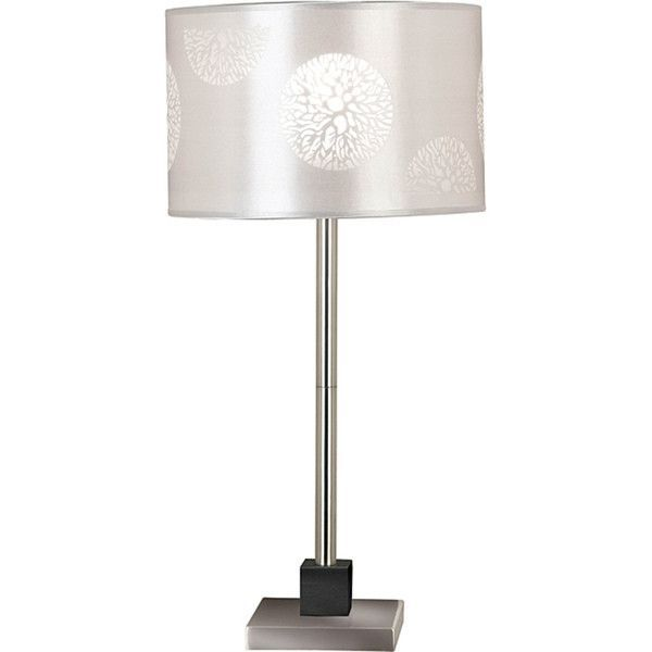 Siam Circus Hyde 26-inch Brushed Steel Table Lamp