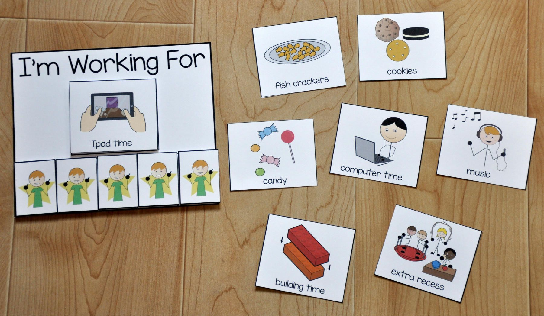 This is a photo of Luscious Printable Visual Supports