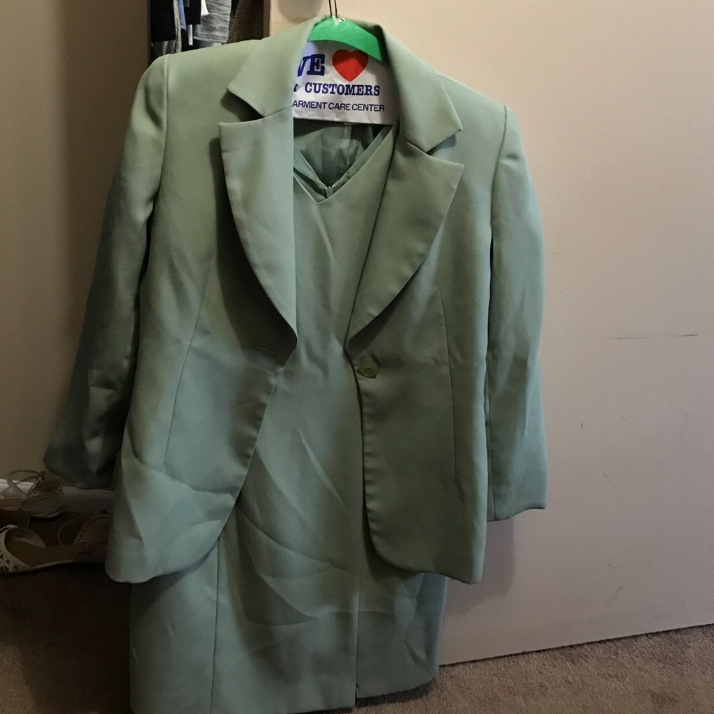 Dress With Suit Jacket Worn Once Perfect Condition