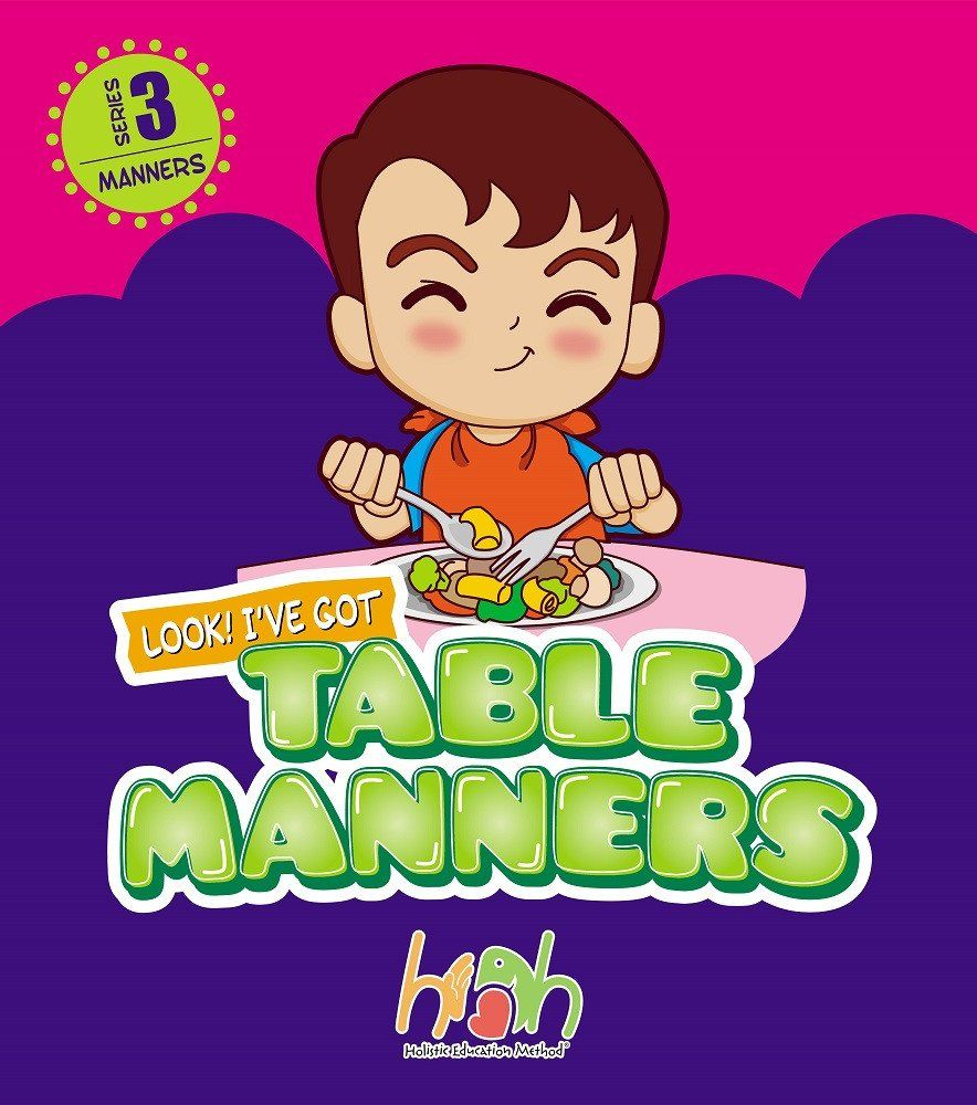 Children Table Manners Life Skill Set Table Setting E Book By Masfemy Manners Table Manners Life Skills