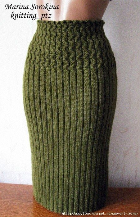 Вязаные юбки | Модели(Машинное вязание) | Pinterest | Stricken, Rock ...