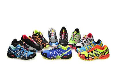 21bbe90a1 Hot Men s Salomon Speedcross 3 Athletic Running Outdoor Hiking Shoes  turf   softball