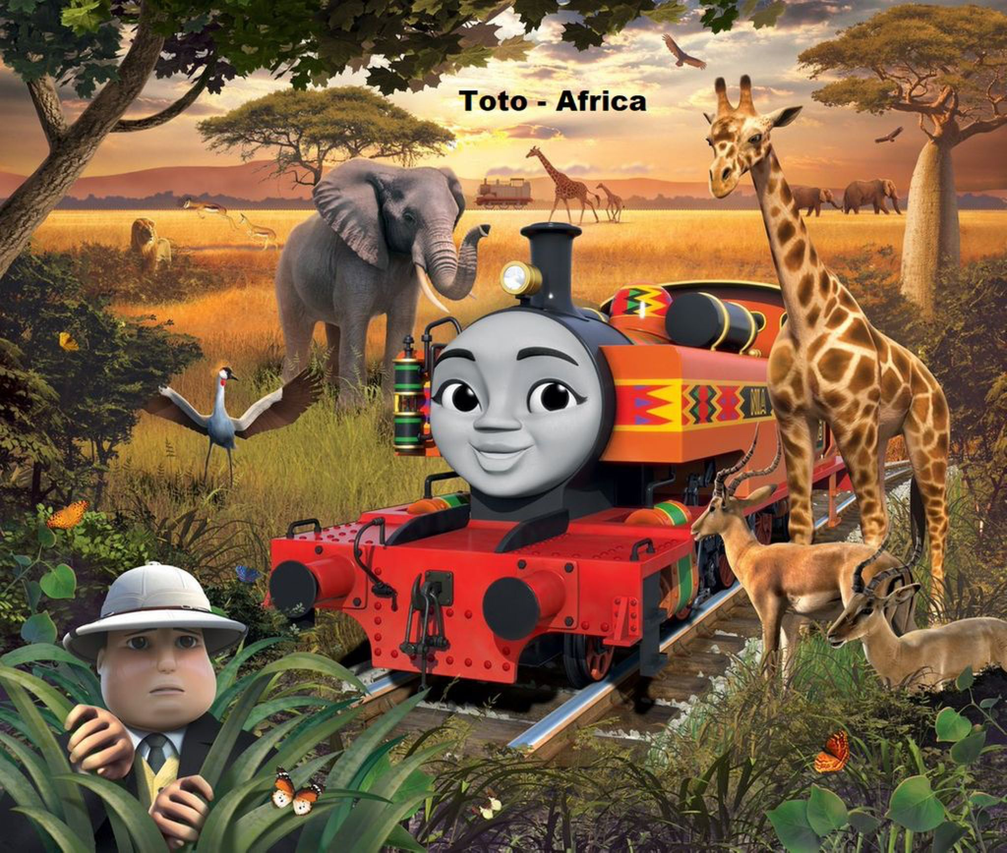 A Tribute For Nia By Thenewmikefan21 On Deviantart Thomas The Tank Engine Thomas And Friends Thomas The Tank