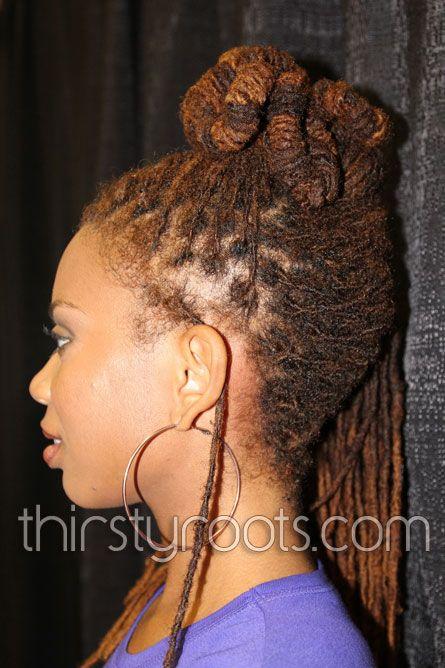 Long Locs Hairstyles Locs Hairstyles Hair Styles Natural Hair Styles
