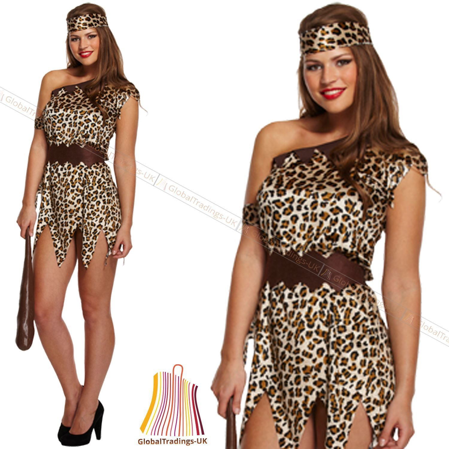 NEW-LADIES-CAVE-WOMEN-JUNGLE-GIRL-FANCY-DRESS-HEN-NIGHT