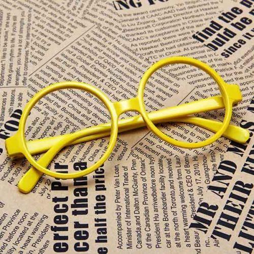 Fashion-Round-Frame-Party-Fancy-Dress-Big-Nerd-Eyeglasses-Glasses-Unisex