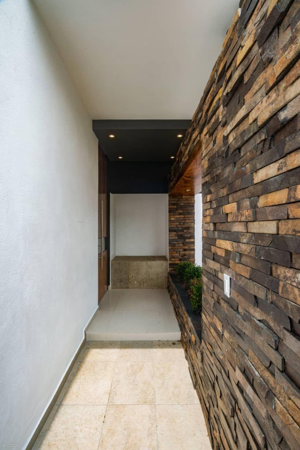 Casa ax casas de estilo minimalista por roka arquitectos