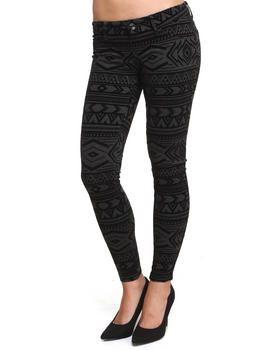 Buy Flocked Aztec Velvet Jegging Women's Bottoms from JOLT. Find JOLT fashions & more at DrJays.com