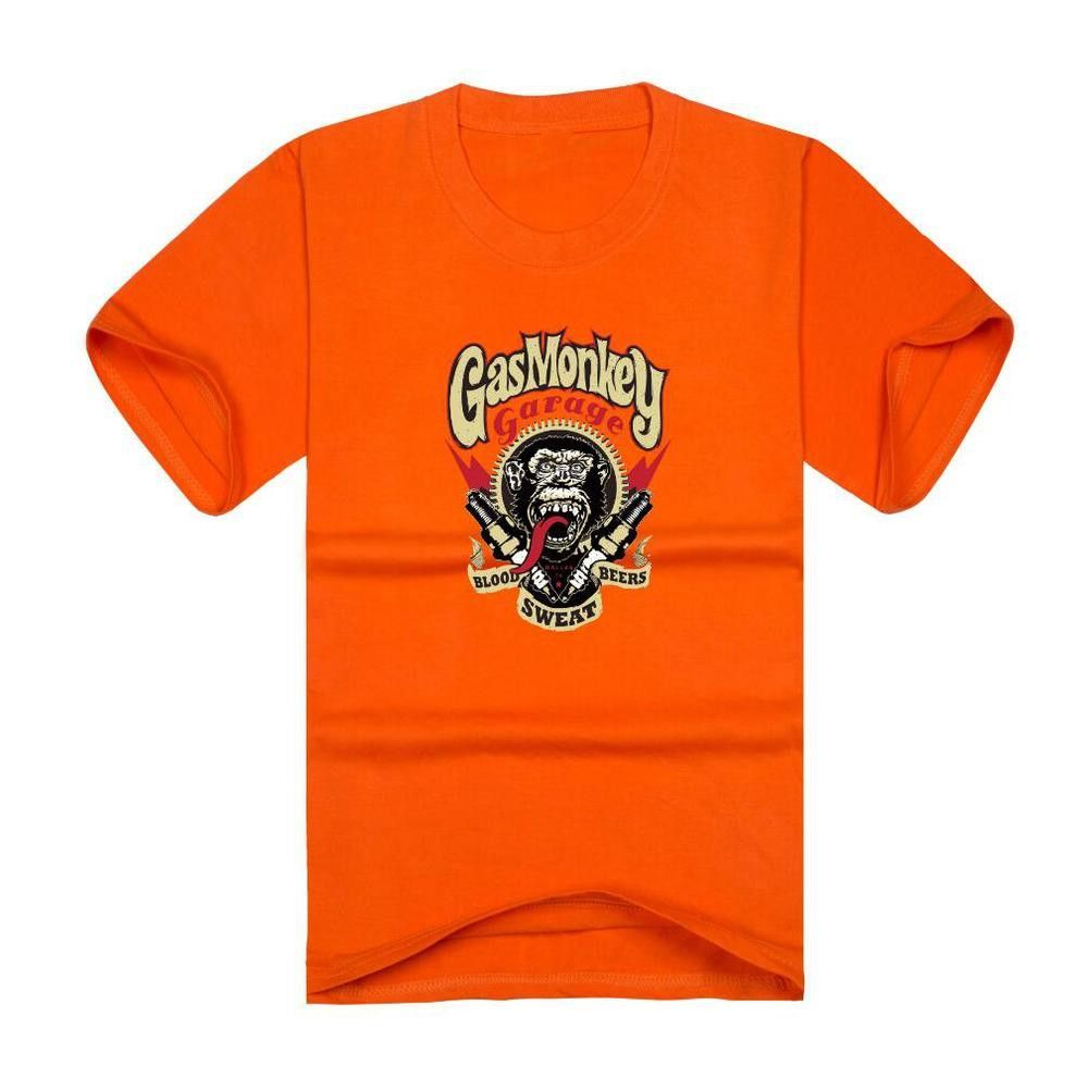Sticker Gas Monkey Brand Casual Tshirt S-XXXL