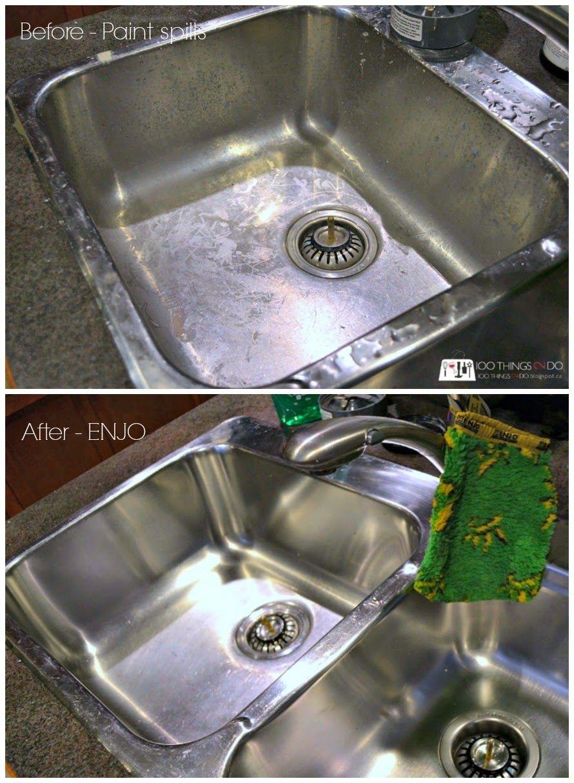 5e11fc2101af5a474613edb56e3c2240 - How To Get Paint Off A Stainless Steel Sink