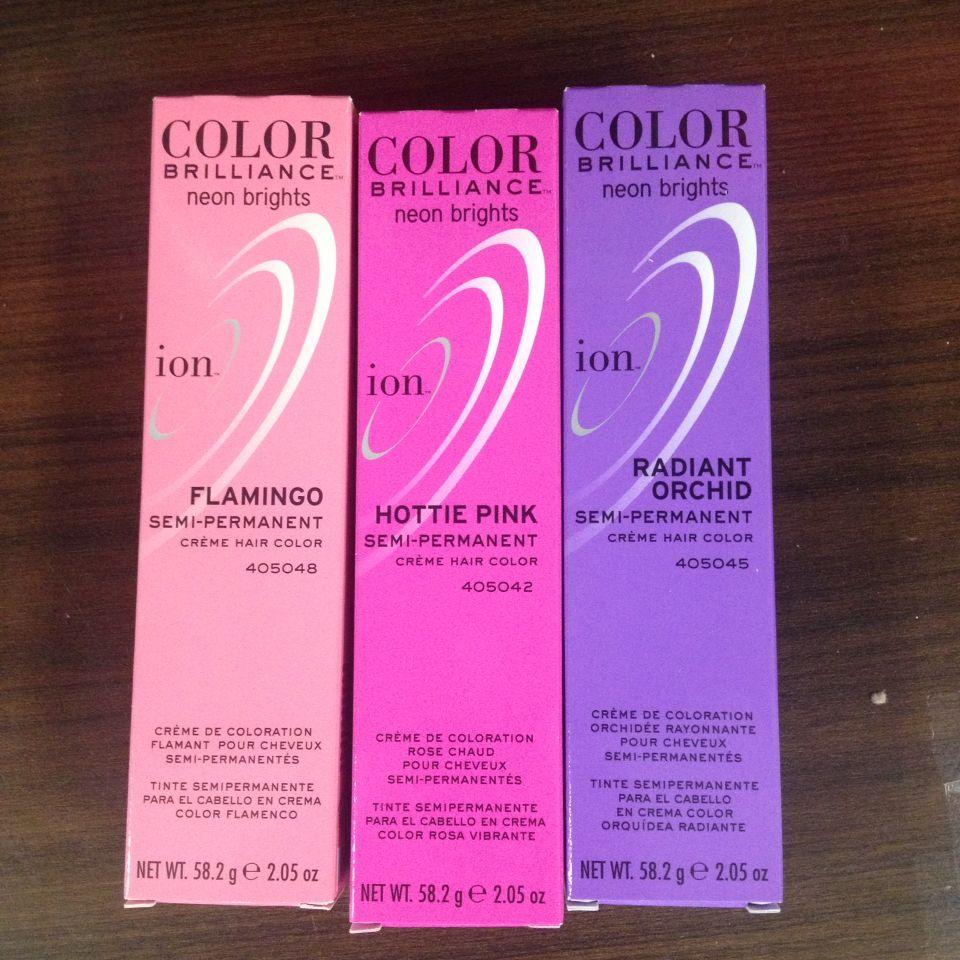 Ion Color Brilliance Directions Semi Permanent Zeenla