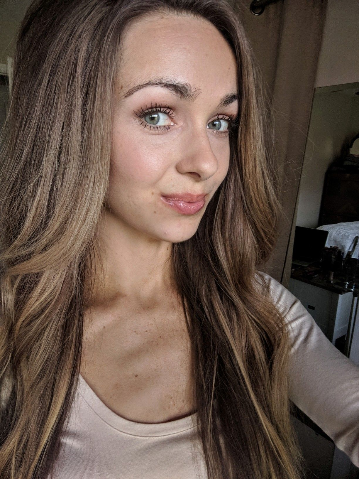 Minimal senegence makeup look, BlushSense Four Ways
