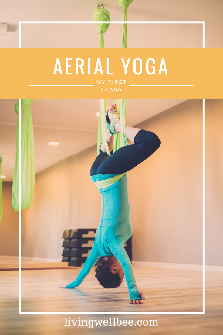 Aerial Yoga for Beginners: Benefits and Tips images