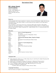 Image Result For Cv Format Pp Pinterest Cv Format Resume
