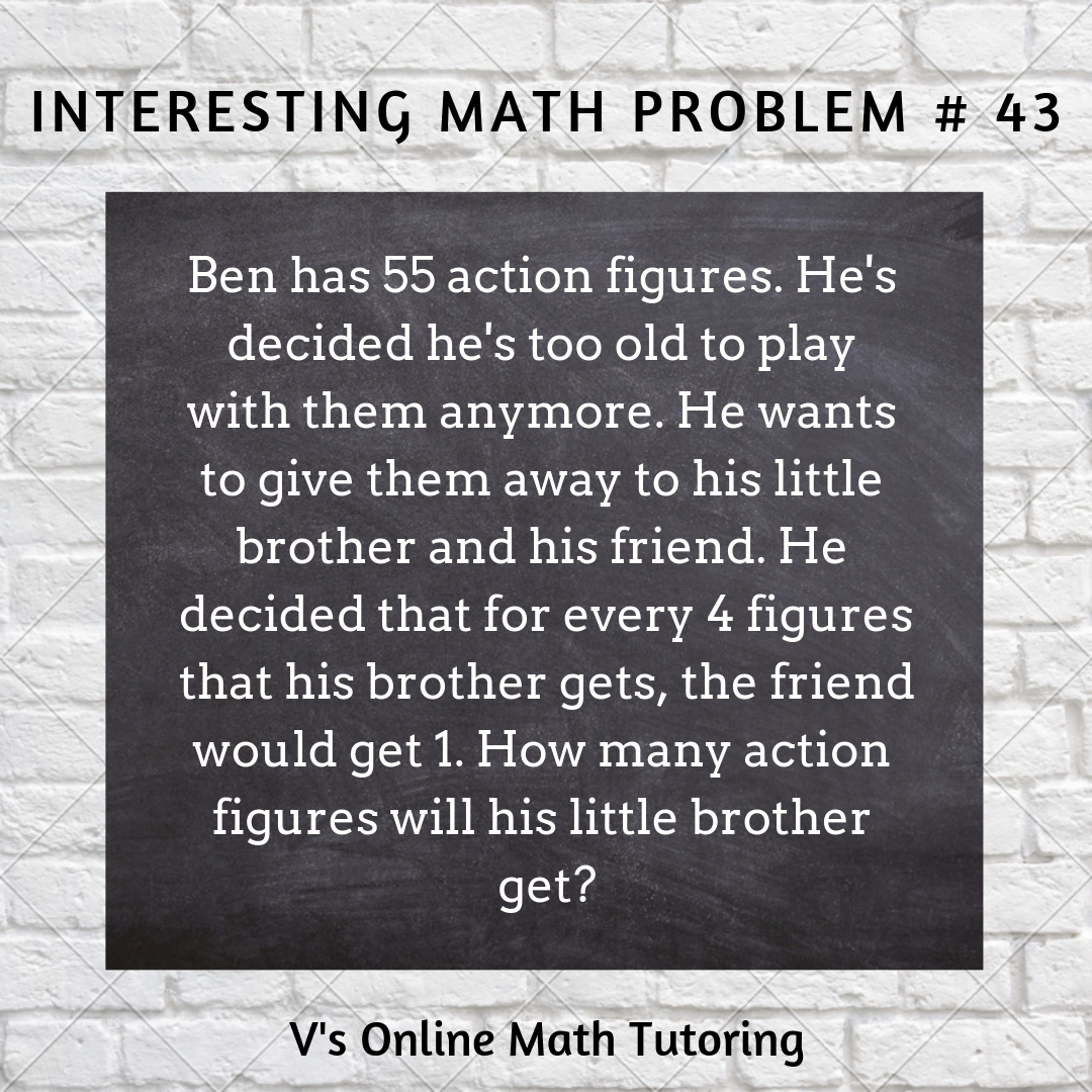 Interesting Math Problems For Upper Elementary Online Math Math Math Tutor [ 1080 x 1080 Pixel ]