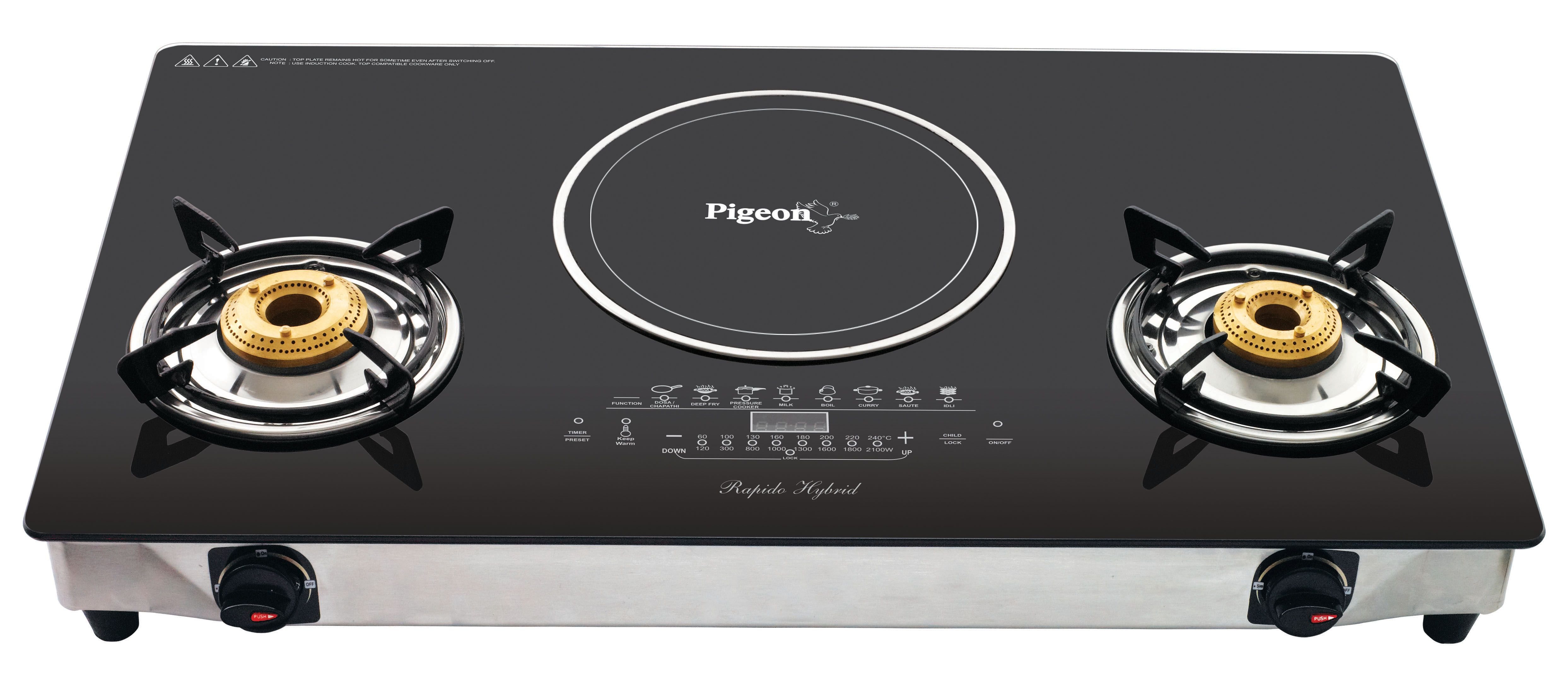 Lovely Induction Stove With Cooker Images