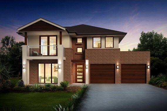Dise o y planos de casas de dos pisos con ideas para for Disenos de pisos para casas