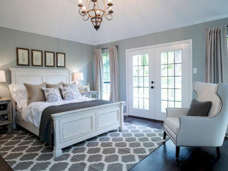 Bedroom Looks cool 74 incredible cozy farmhouse master bedroom ideas. more at