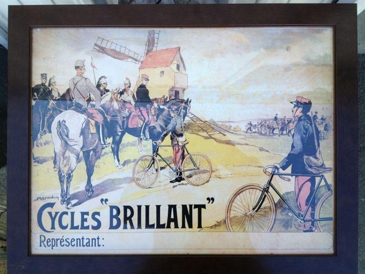 """Brilliant"" Bike Poster"