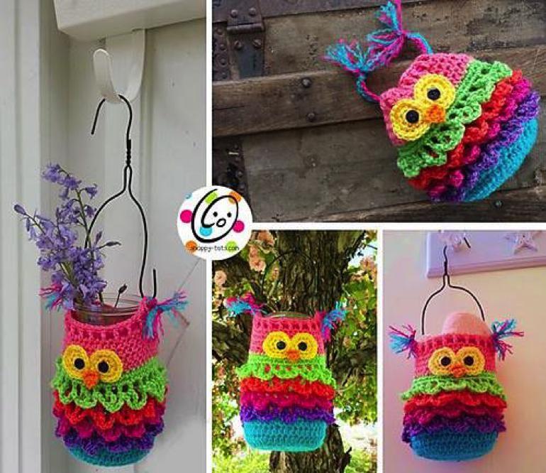 20+ Super Cute Crochet Knitted Owl Patterns | Tejido, Owl y Cata