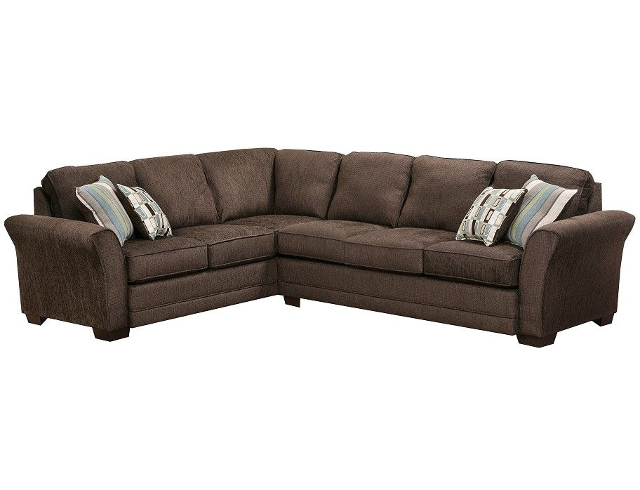 Slumberland Boston Collection Brown Sectional Brown Sectional Slumberland Furniture Furniture