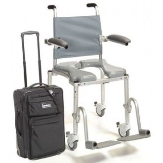 Multichair Foldable Travel Shower Commode Chair Commode Chair