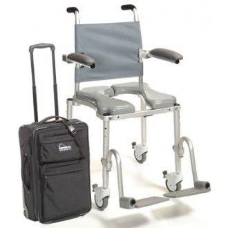 Multichair Folding Travel Shower/Commode Chair | 1800wheelchair ...