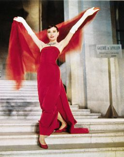 Edith Head and Givenchy designed Audrey Hepburn's wardrobe for Funny Face 1958