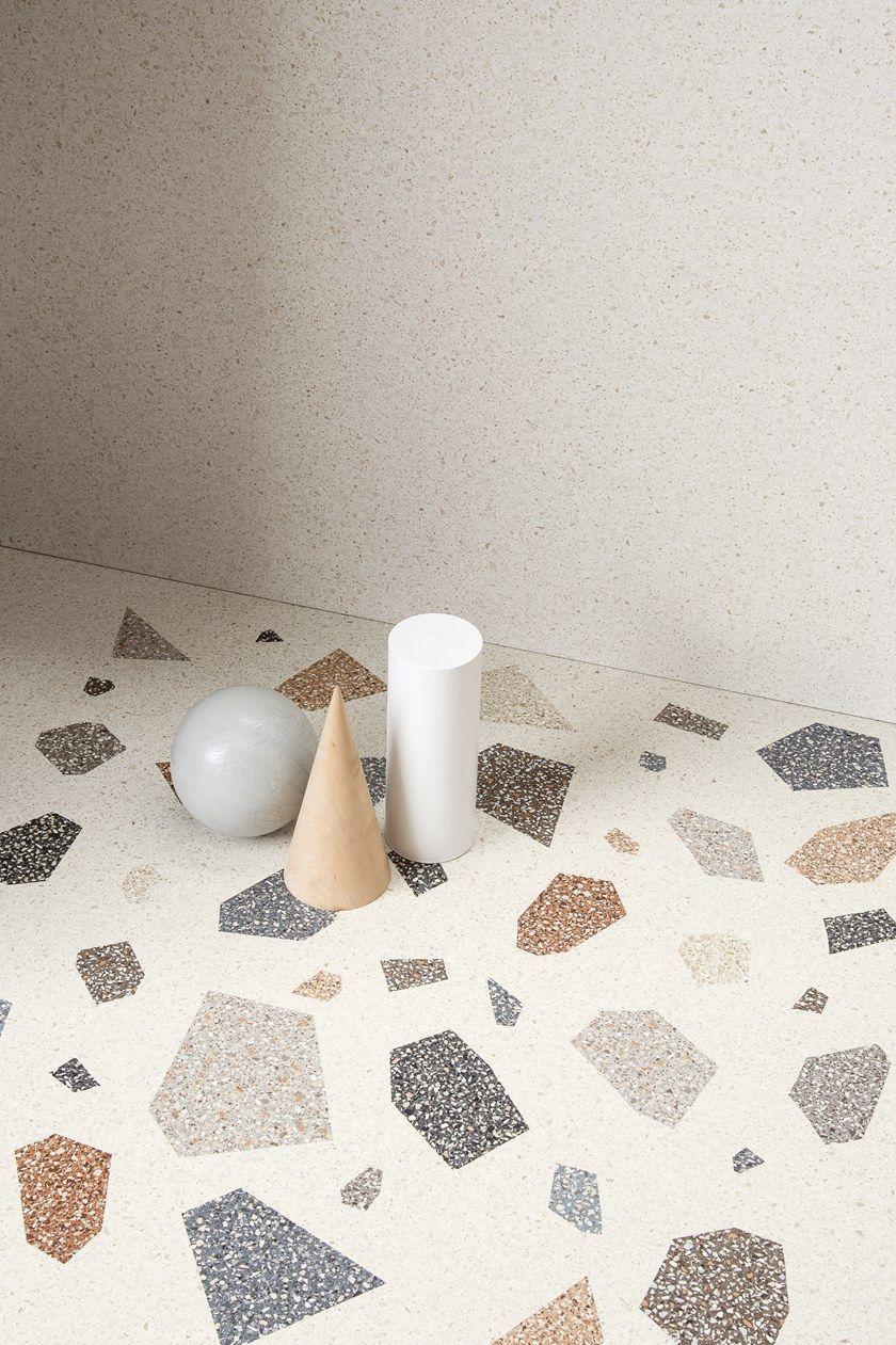 Porcelain Stoneware Wall Floor Tiles Terrazzo Effect Newdecò