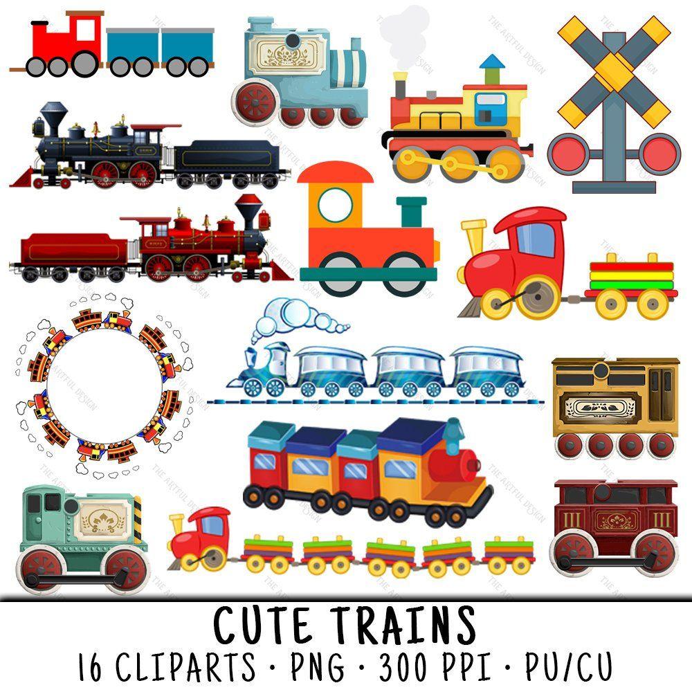 Kid Train Png Train Clipart Cute Train Clipart Train Clip Etsy Train Clipart Clip Art Animal Valentine