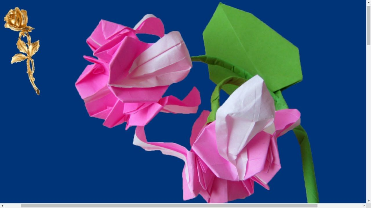 Origami Fuchsia Le Plaisir Dorigami Pinterest Origami And