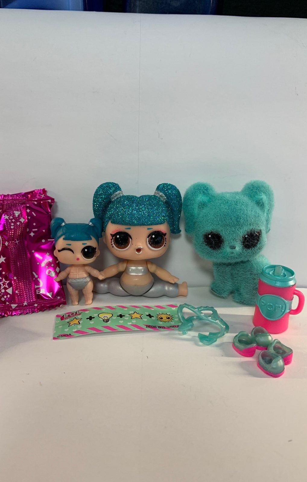Lol Surprise Sparkles Fuzzy Pets Series 3 Glamstronaut Sparkles Lil Glamstronaut And Racoonstronaut All Are Brand New Accesso Lol Dolls Doll Accessories