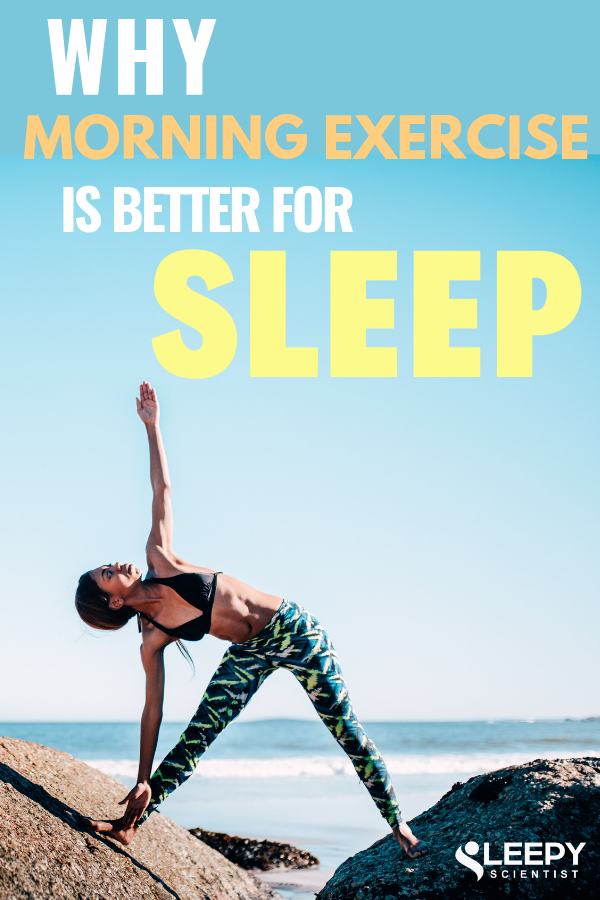 It's obvious that exercise has great benefits for our sleep. But did you know that working out in th...