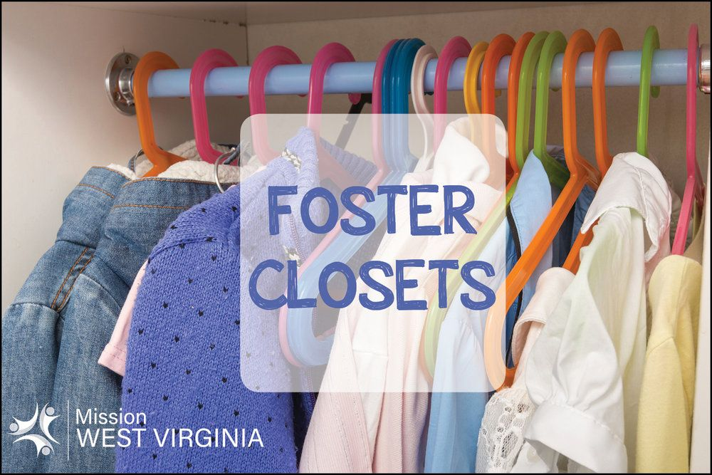 West Virginia Foster Closets Foster care children, The