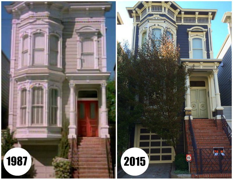 see the real full house house on 1709 broderick street in san