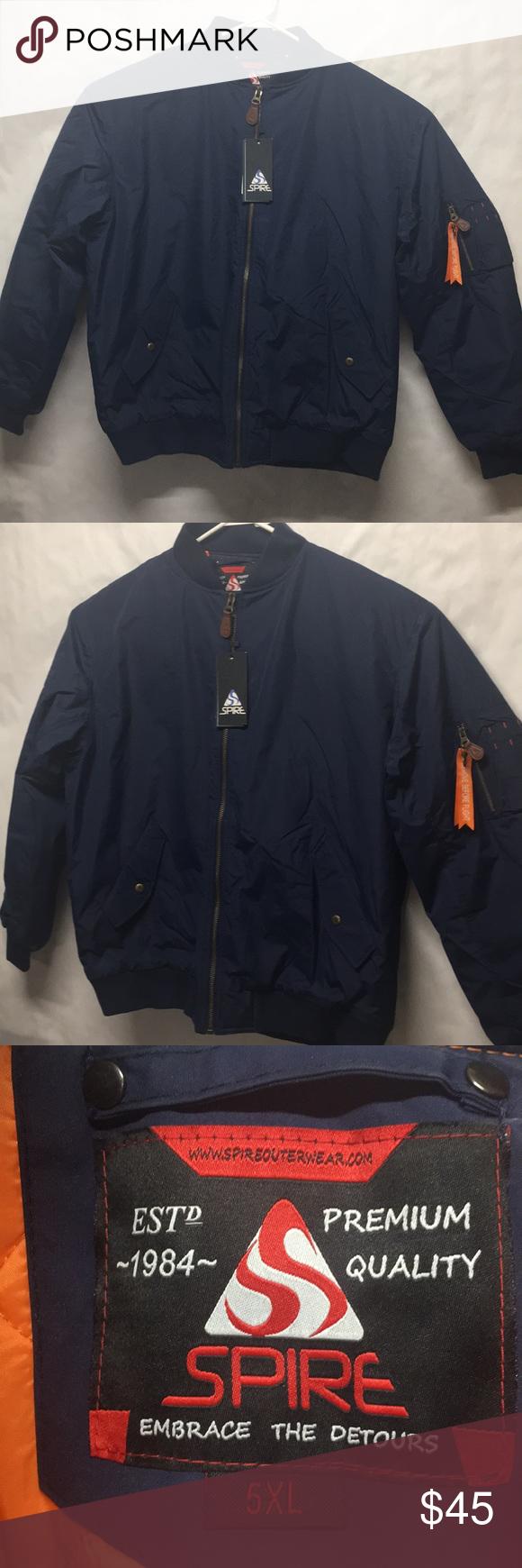 Men S Flight Jacket Sz5xl Navy Blue Quilted Flight Jacket Navy Blue Quilt Mens Flight Jacket [ 1740 x 580 Pixel ]