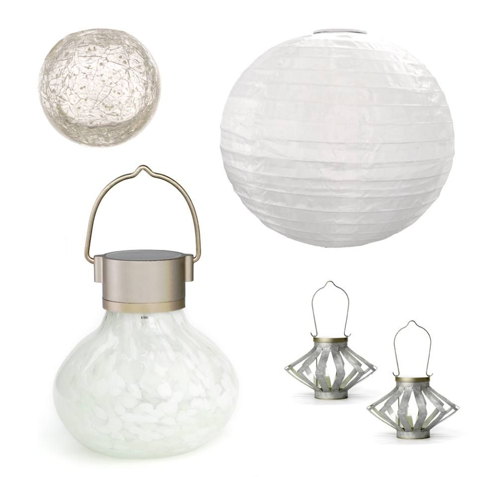 All White Solar Lanterns From Allsop Home U0026 Garden.. Perfect For The  Holiday!